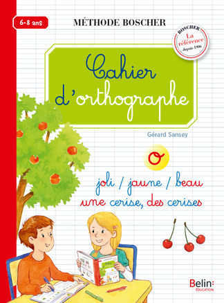 Cahier d'orthographe -