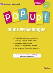 POP UP CM2 guide pédagogique -
