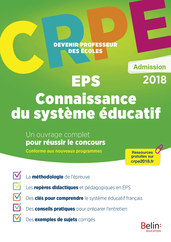 CRPE ADMISSION EPS/SYSTEME EDUCATIF -