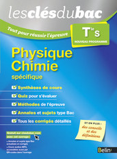 Physique Chimie - Terminale S -