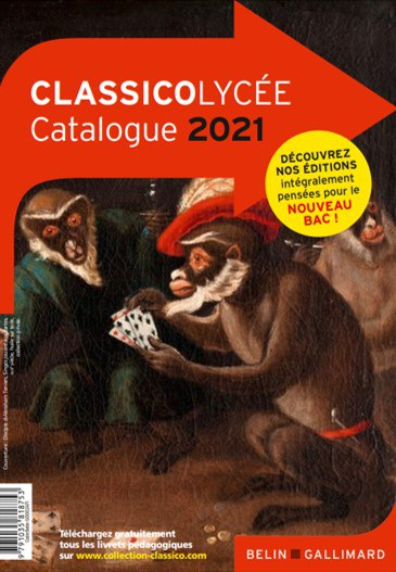 Couverture Catalogue Classico Lycee 2021