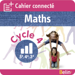 Cahiers connectés Maths cycle 4 img