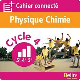 cahier connecté Physique Chimie cycle 4